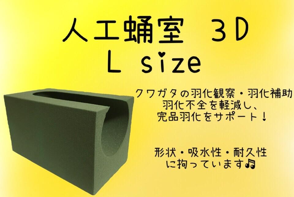 画像1: 【D.D.A ism】人工蛹室3D Lsize (1)