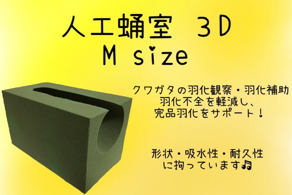 画像1: 【D.D.A ism】人工蛹室3D Msize (1)
